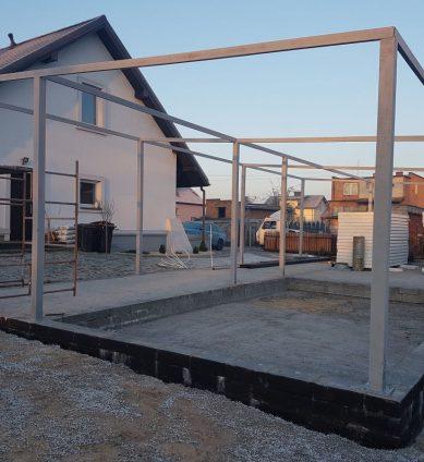 Konstrukcje stalowe, hale